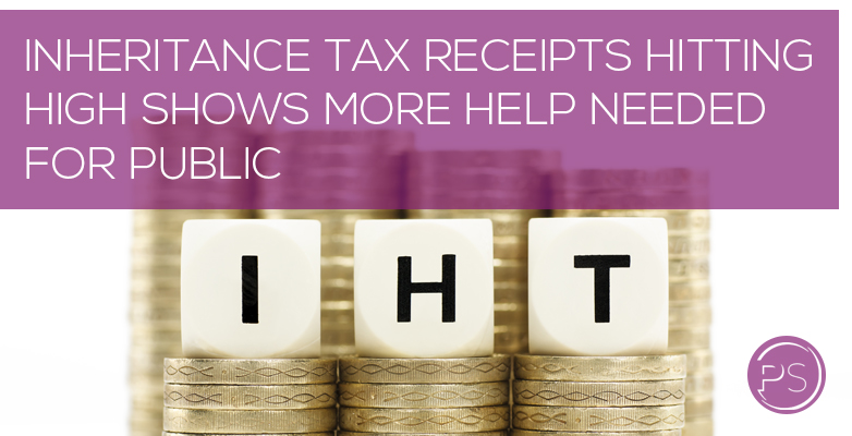 Inheritance tax receipts